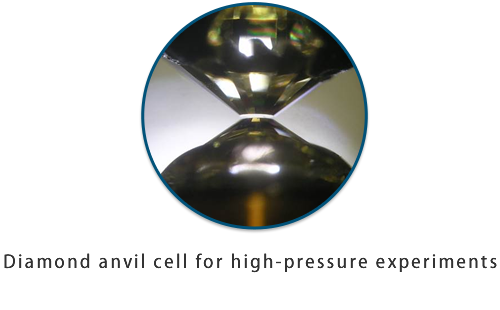Diamond anvil cell for high-pressure experiments